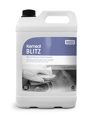 BLITZ - LIQUID SCOURING CREAM
