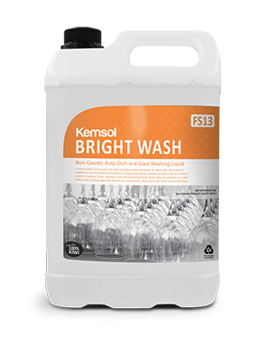 BRIGHT WASH  AUTO DISH & GLASS WASH
