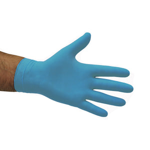 NITRILE POWDER FREE BLUE GLOVES