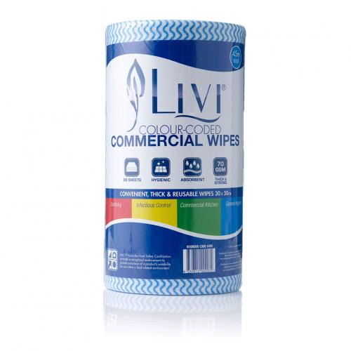 LIVI COMMERCIAL CLOTH WIPES