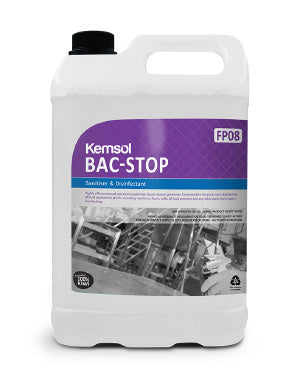 BAC STOP  QUAT BASED SANITISER
