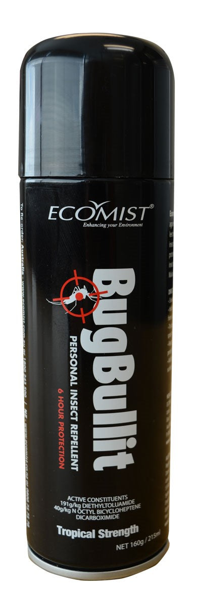 ECOMIST BUG BULLIT 215ML - BLACK CAN