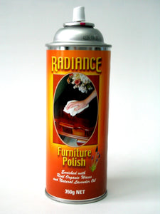 RADIANCE FURNITURE POLISH - 350GM CAN