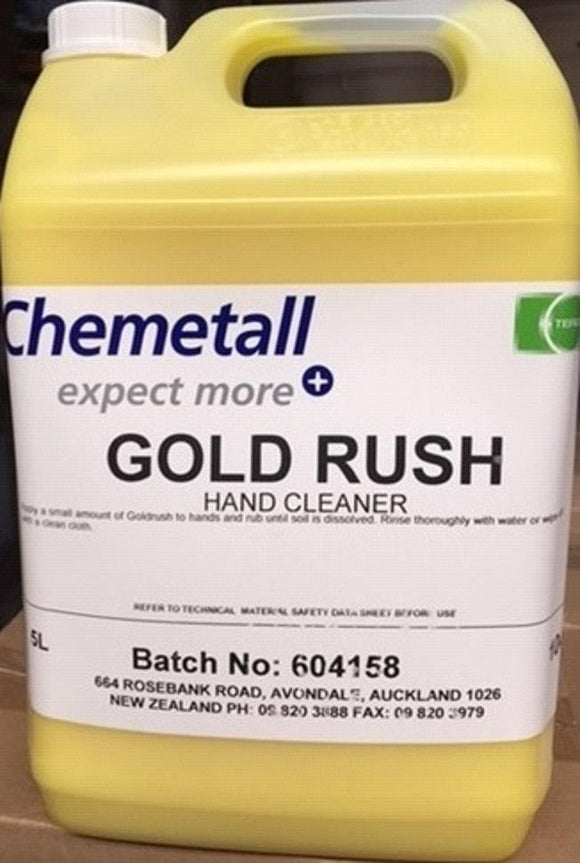 GOLD RUSH HANDCLEANER