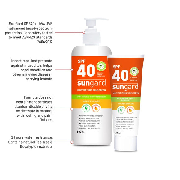 ESKO SUNGARD SUNSCREEN WITH INSECT REPELLENT & LIP BALM