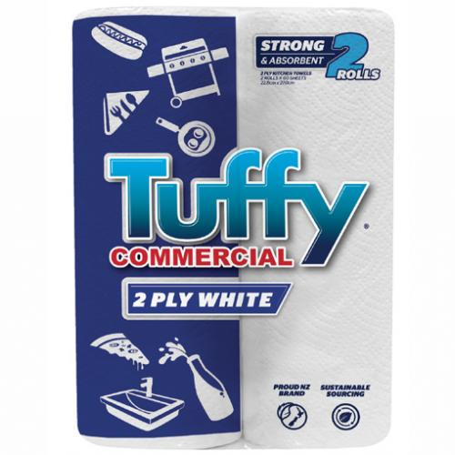 KITCHEN TOWELS 2PLY- TUFFIE 2/PK