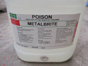 METAL BRITE - ACIDIC CLEANER