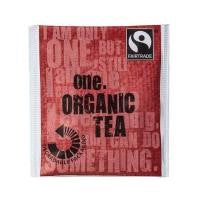 ONE FAIRTRADE OVERWRAPPED TEA BAGS