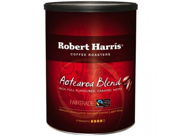 COFFEE ROBERT HARRIS AOTEAROA BLEND FAIRTRADE TIN
