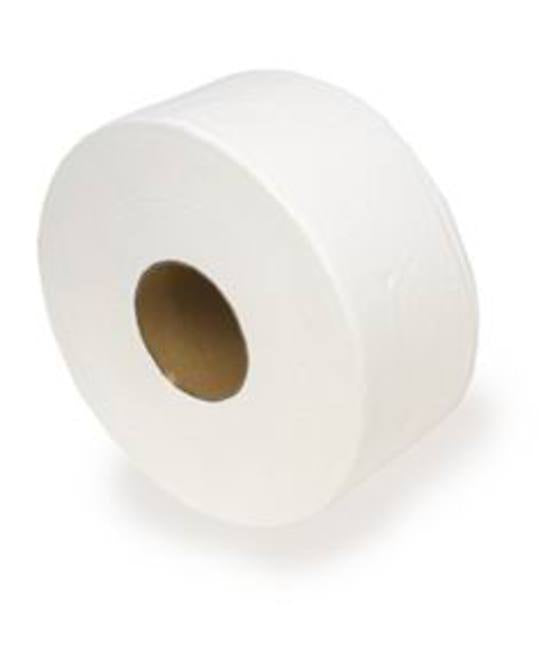 JUMBO TOILET TISSUE 2 PLY DELUXE PERF. 300M PER ROLL 8/CTN