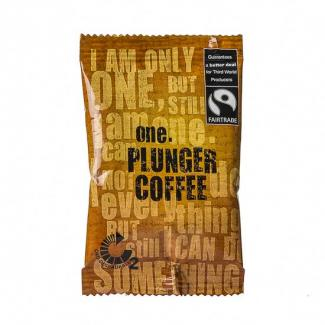ONE FAIRTRADE PLUNGER COFFEE - 75/CTN