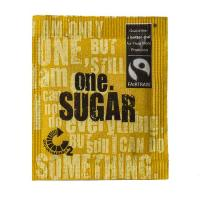 ONE FAIRTRADE SUGAR SACHETS - 2000/CTN