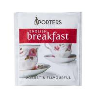 TEA BAGS PORTERS ENGLISH BREAKFAST  - 200/CTN