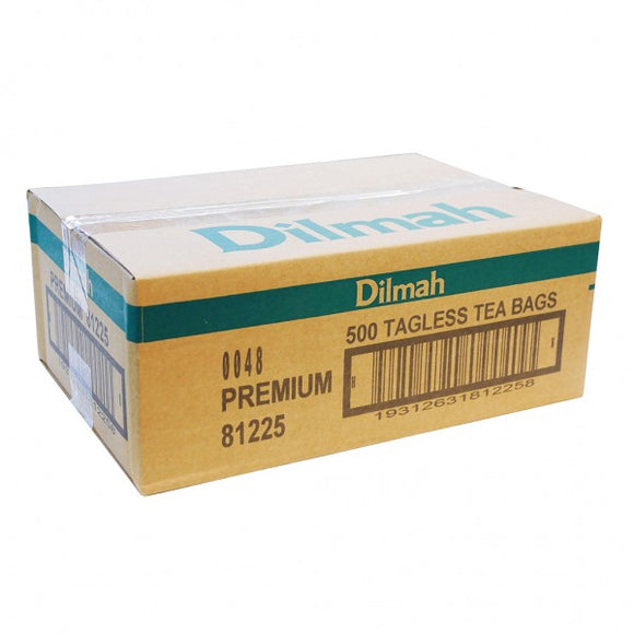TEA PREMIUM TAGLESS DILMAH  - 200/BOX