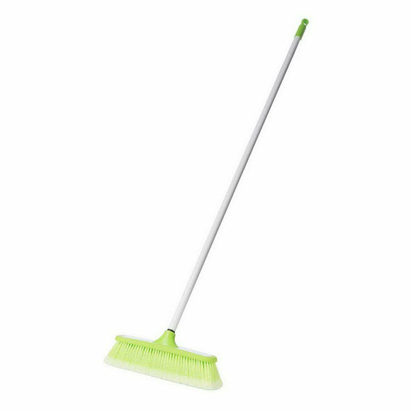 HOUSE BROOM WITH RUBBER BUMPER