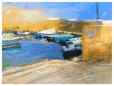 Digital Print: Saint Paul's Bay Harbour 2
