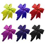 "1 x 4"" Luxury Cheerleader Bow Hair Band 
