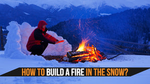 How to Build a Fire in the Snow?
