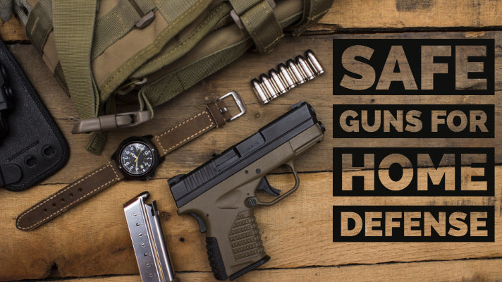 Safe Guns for Home Defense