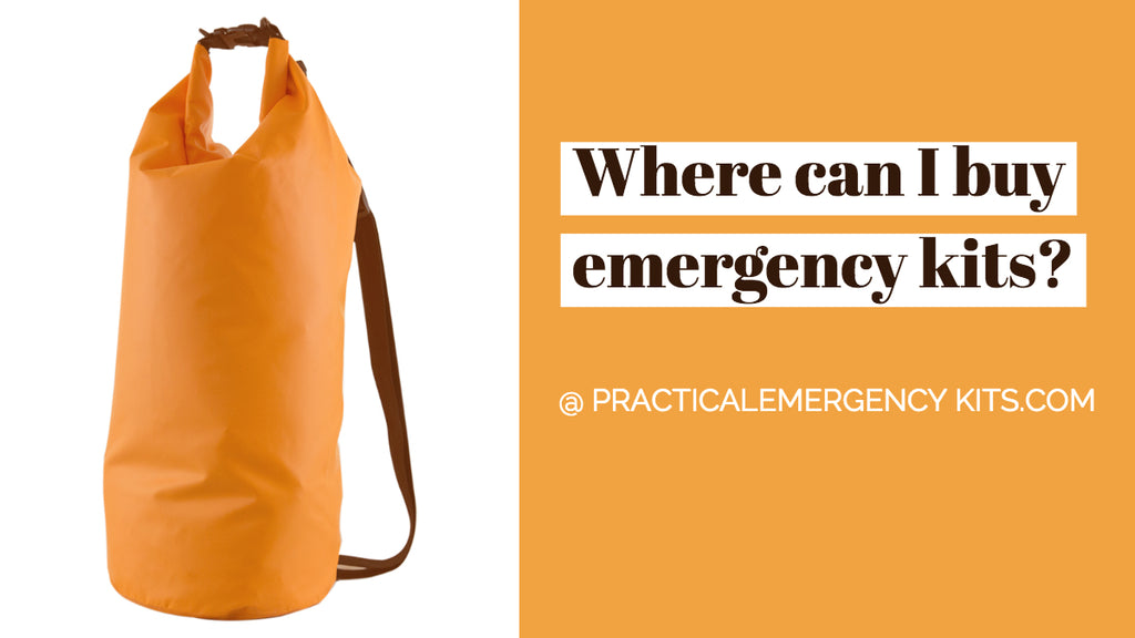 Where to buy emergency kits?