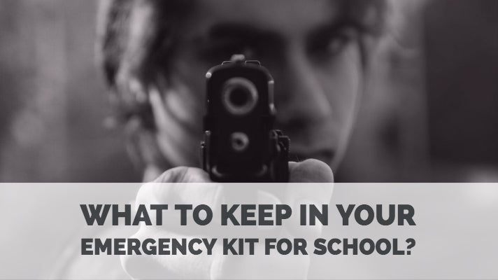 What to keep in your emergency kit for school?