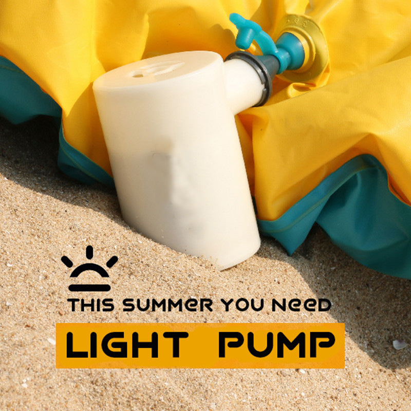 Portable Outdoor Light Pump