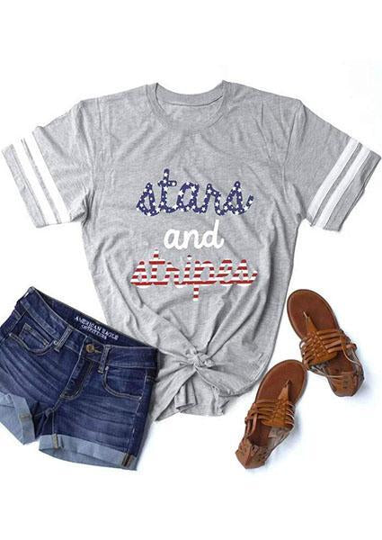 Stars And Stripes American Flag T-Shirt