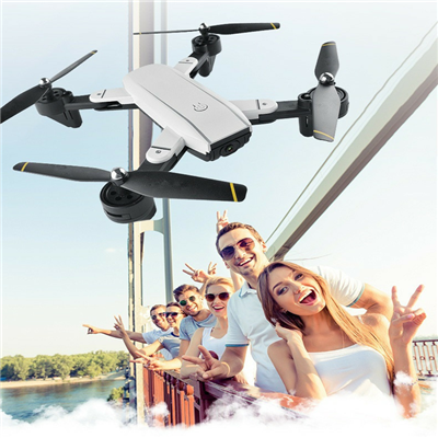 Ultra-Portable Drone With 1080P HD Wi-Fi Double Camera