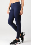 Solid Pocket High Waist Leggings