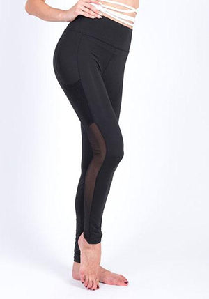 Quick-drying Mesh Pocket Yoga leggings