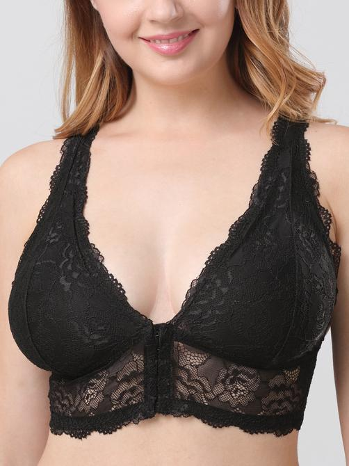 Push size Wireless bra-Plus size-Yolamo.com