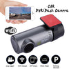 Car Screenless Hidden Type WiFi Full HD Driving Recorder(1 Set)