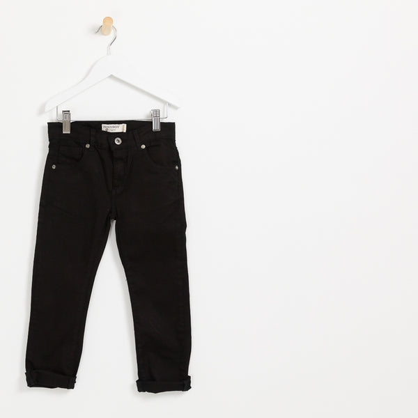 Children's Boys Black slim cut denim jeans