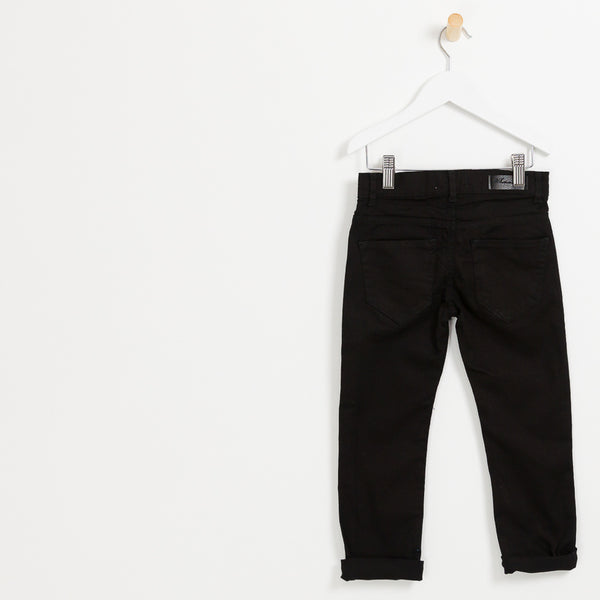 Kids boys Black slim cut denim jeans