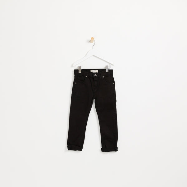 Boys Black slim cut denim jeans
