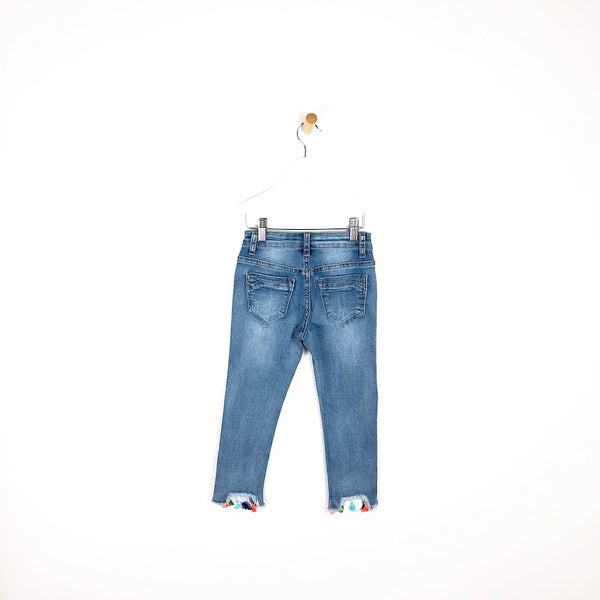 Tassel Time - Denim Jeans