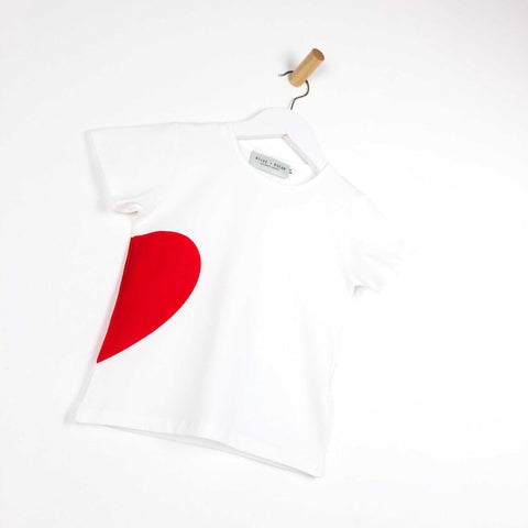 Queen Of Hearts - White