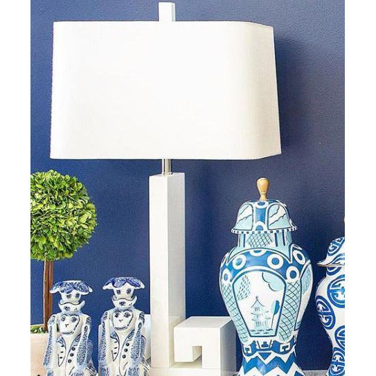 "30""H Astor Table Lamp - White - Couture Lamps"