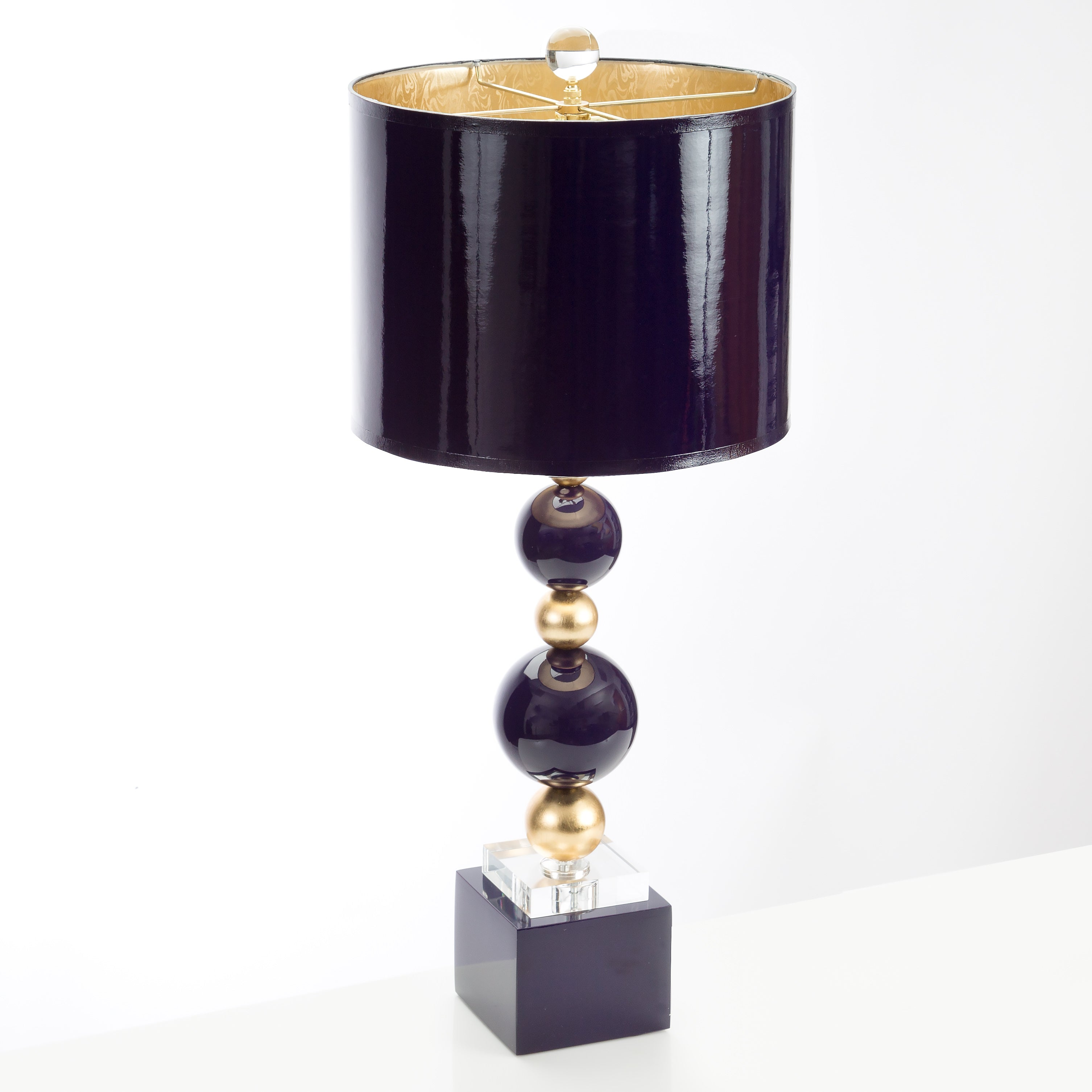 "29""H Sheridan Table Lamp - Indigo Blue - Couture Lamps"