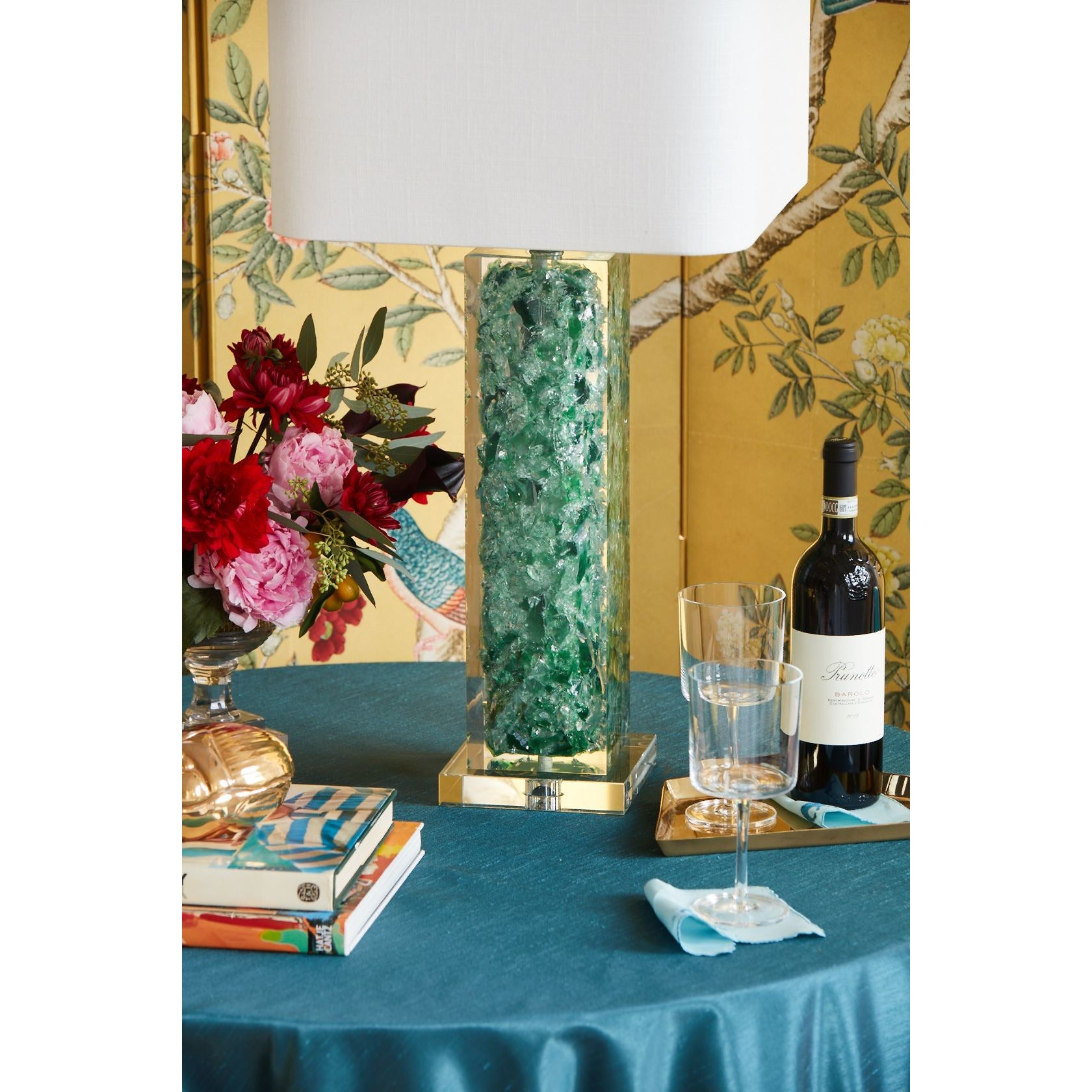"Oceanaire 33"" Table Lamp - Couture Lamps"
