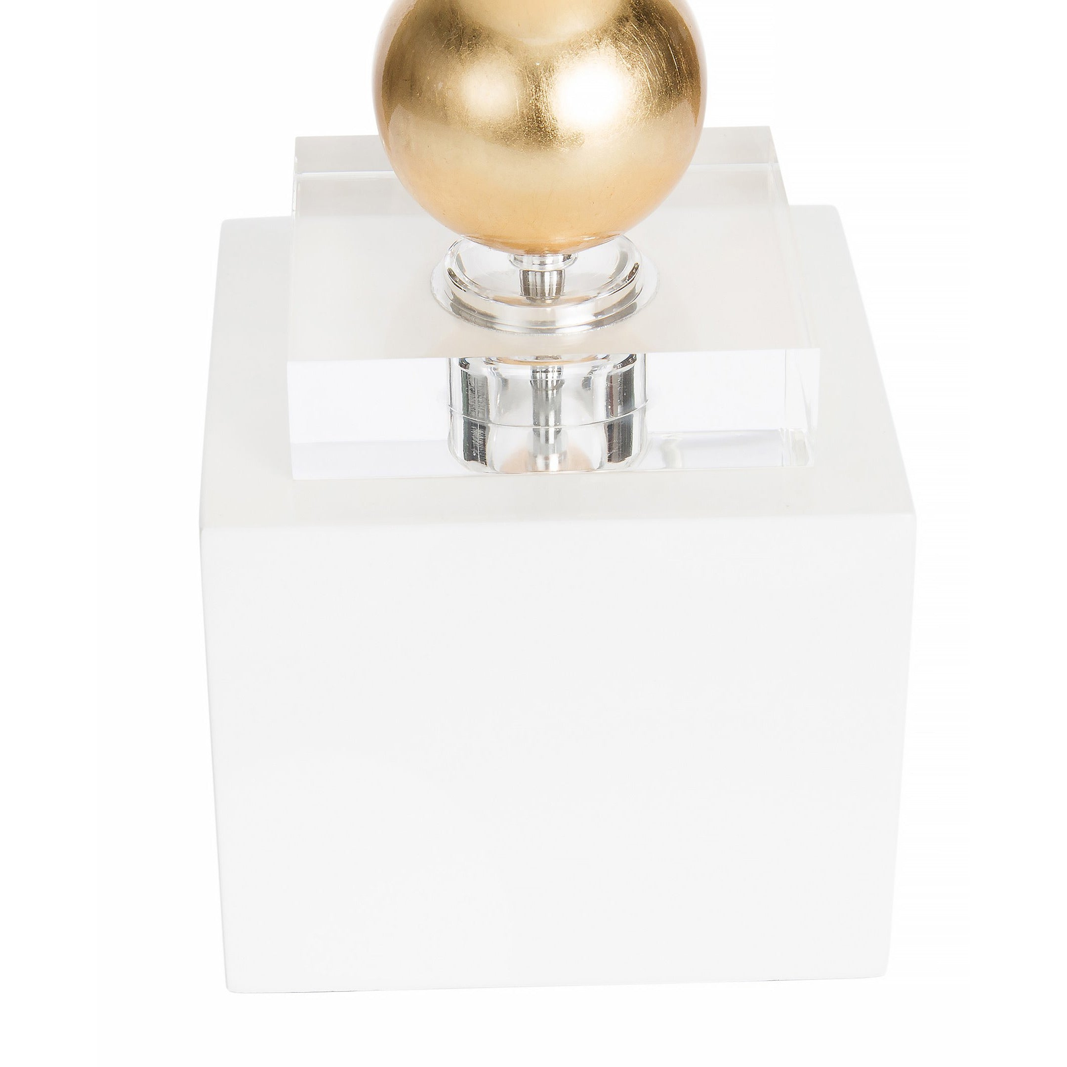 Sheridan Table Lamp, White - Couture Lamps