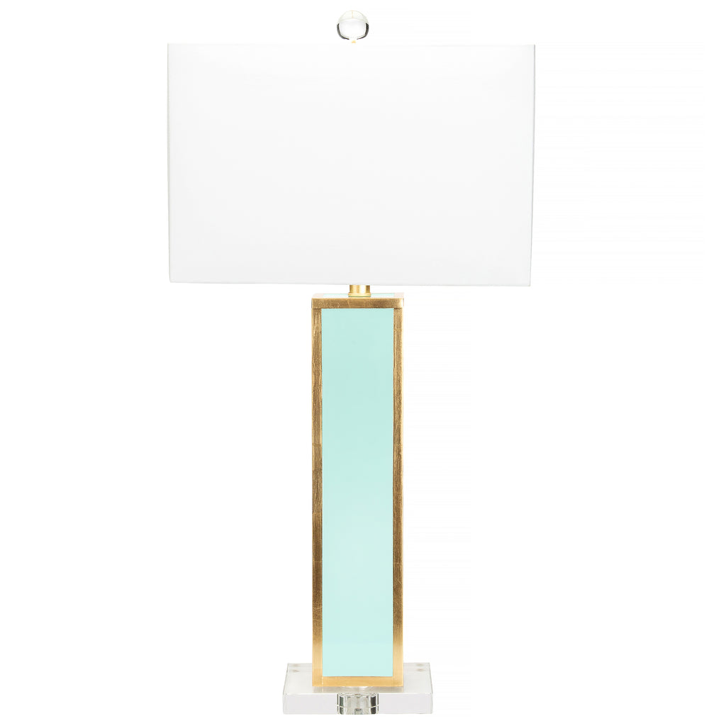 Blair Table Lamp, Mint Green - Couture Lamps