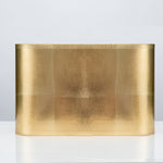 "Rectangular Gold Foil Shade 14/9 x 14/9 x 9"" - Couture Lamps"