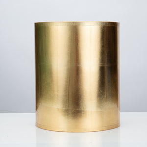 "Round Gold Foil Shade 11 x 11 x 13"" - Couture Lamps"