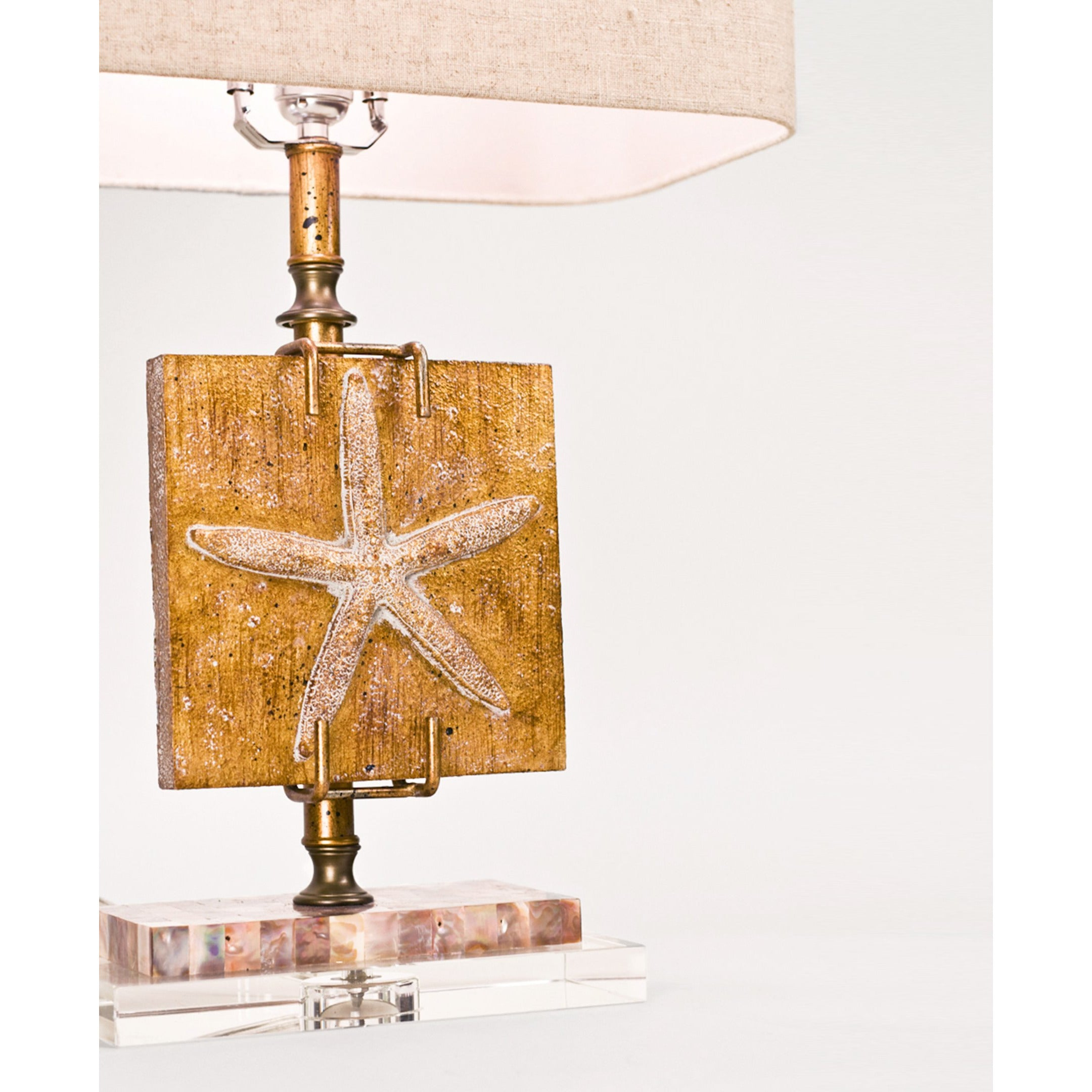 "Ponte Vedra Starfish 24.5"" Table Lamp - Couture Lamps"
