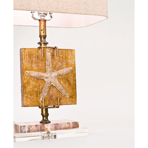 "Coastal Retreat Ponte Vedra Starfish 24.5"" Table Lamp - Couture Lamps"