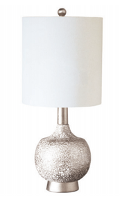 "28"" Atwater Table Lamp - Silver - Couture Lamps"