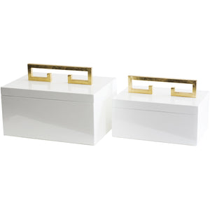 Avondale Boxes [Set of 2] - Couture Lamps