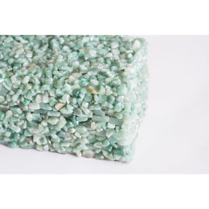 Cienega Green Quartz Box - Couture Lamps