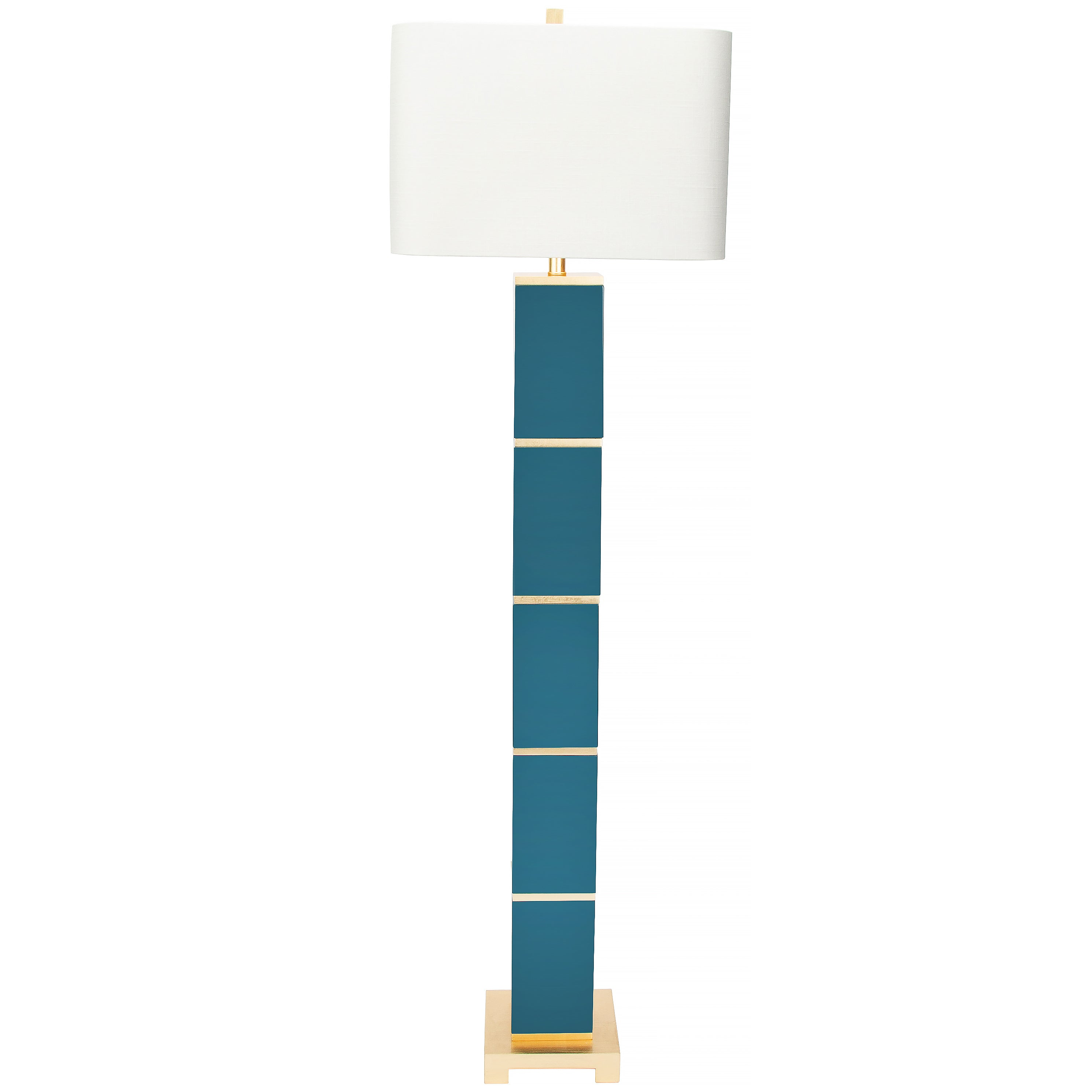 Peacock Floor Lamp - Couture Lamps